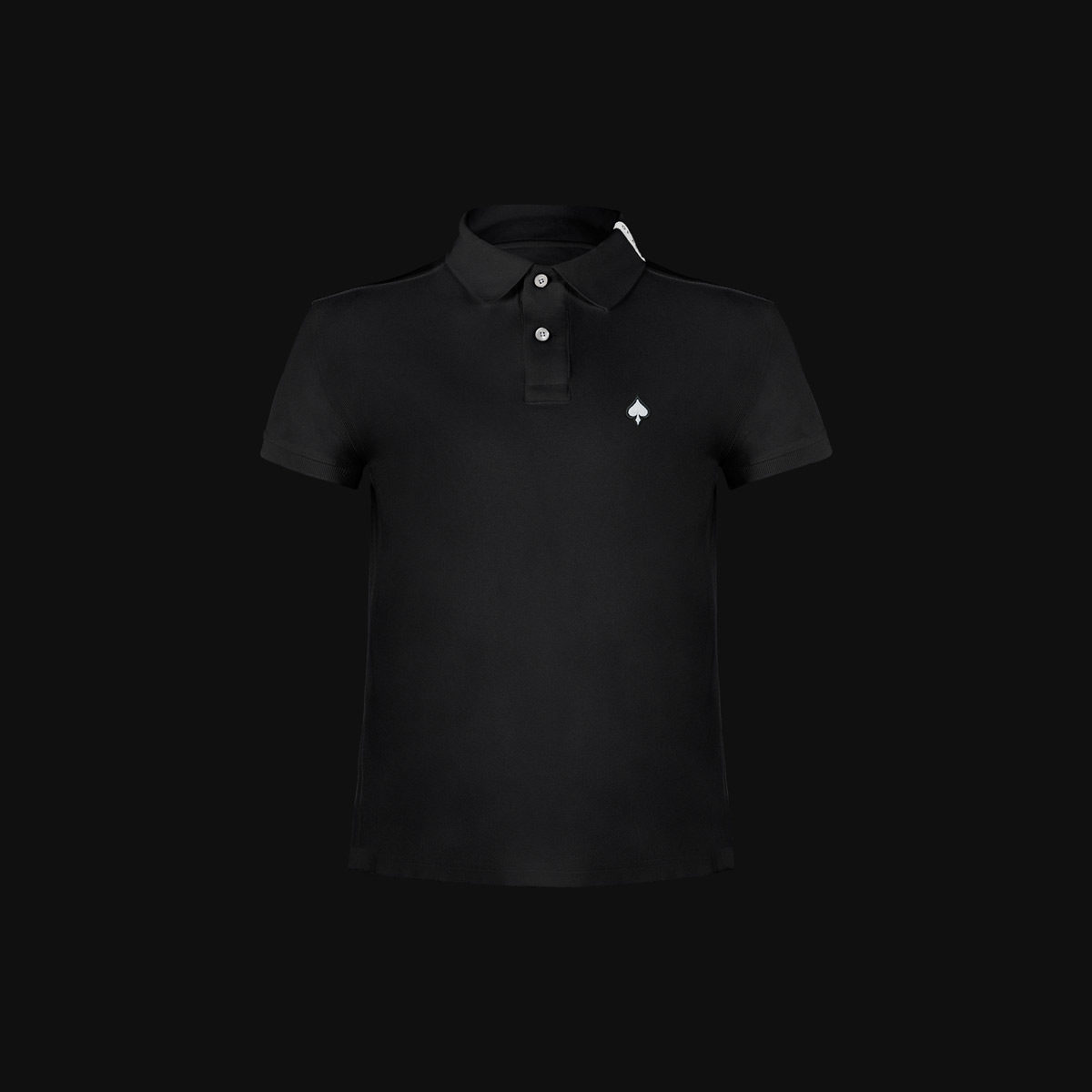 The Black Ace polo for man
