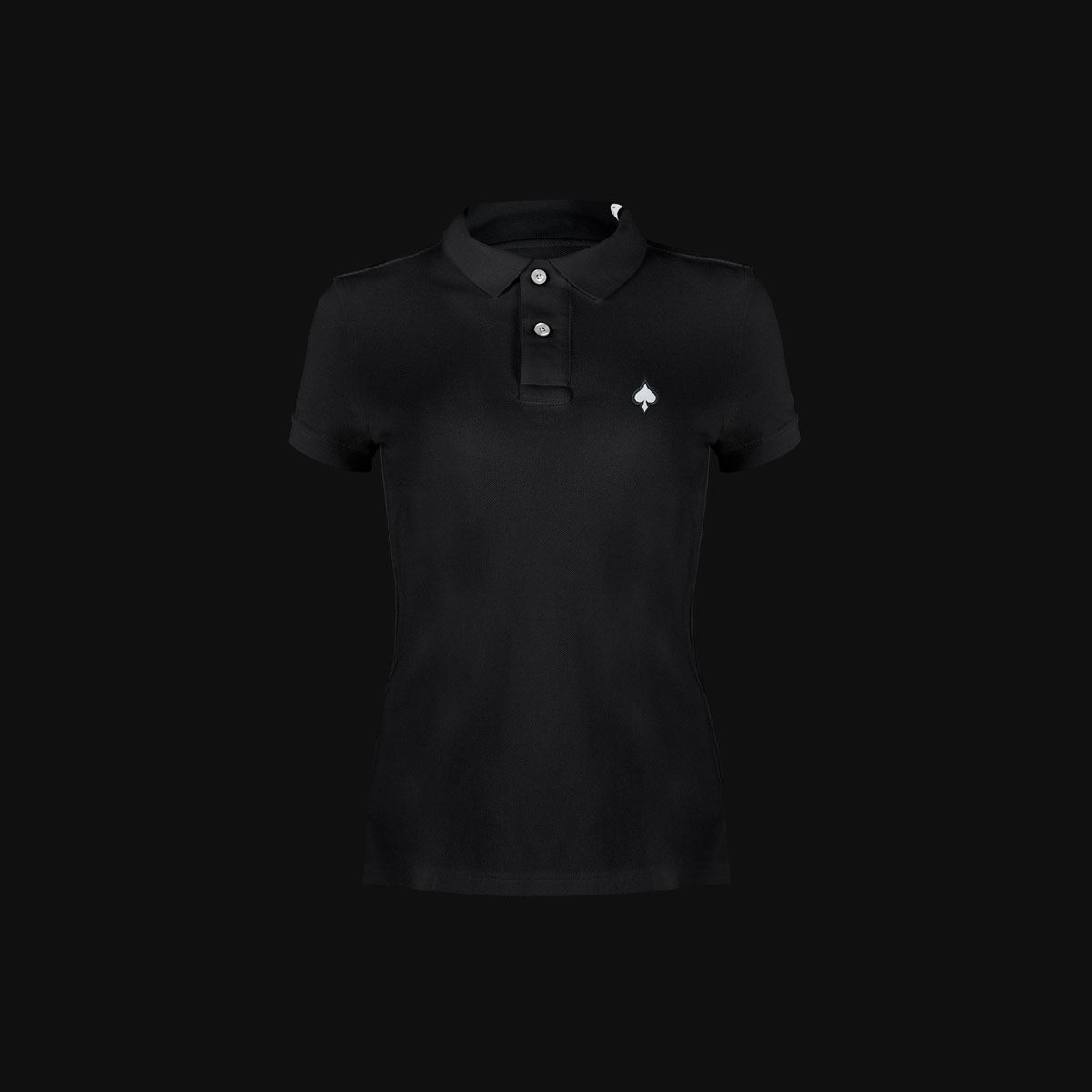 The Black Ace polo for woman