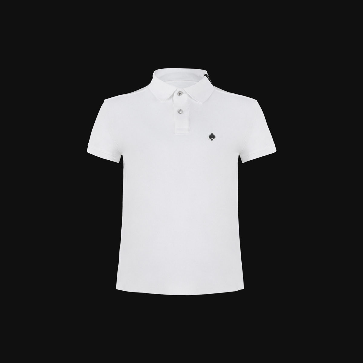 The White Ace polo for man