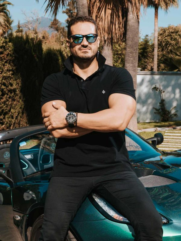Magna Supercars and his luxury Black Ace Limited Edition
